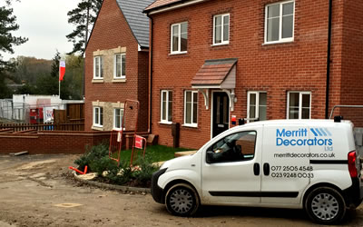 New Build Decorating Contractors