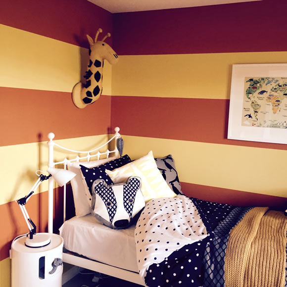 Painting and Decorating Bedroom Job Example