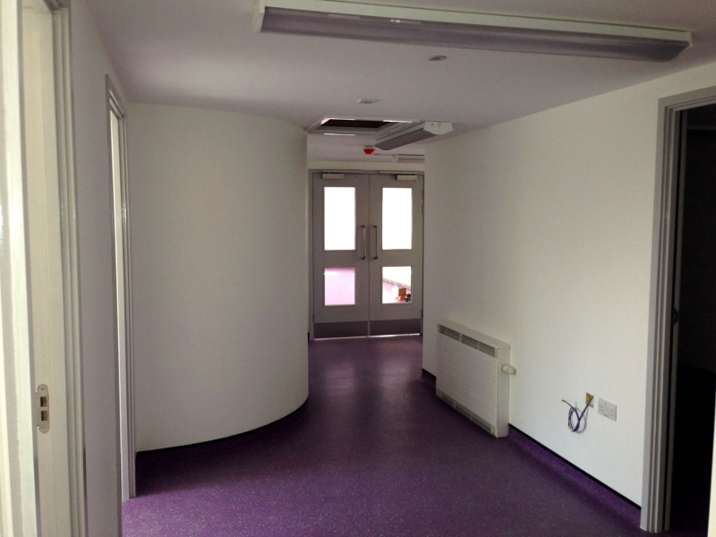 School Extension Decorating Job Example