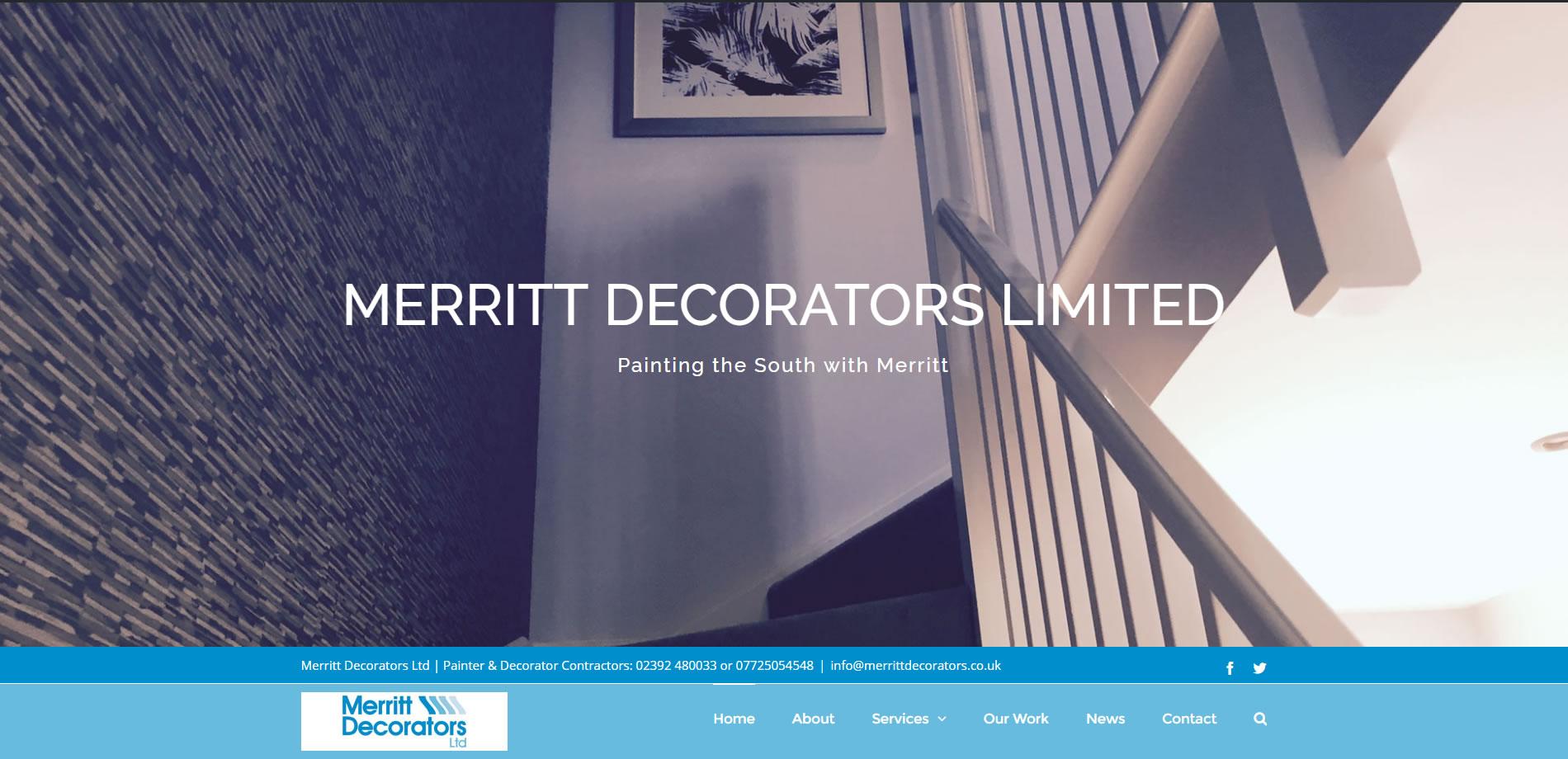 New Website Screenshot