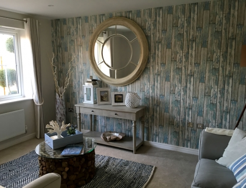 Show Home Decoration, West Sussex New Build Development