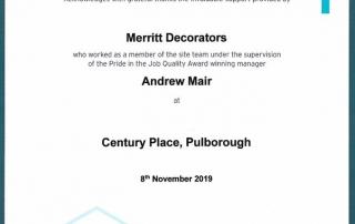Pride in the Job Award 2019